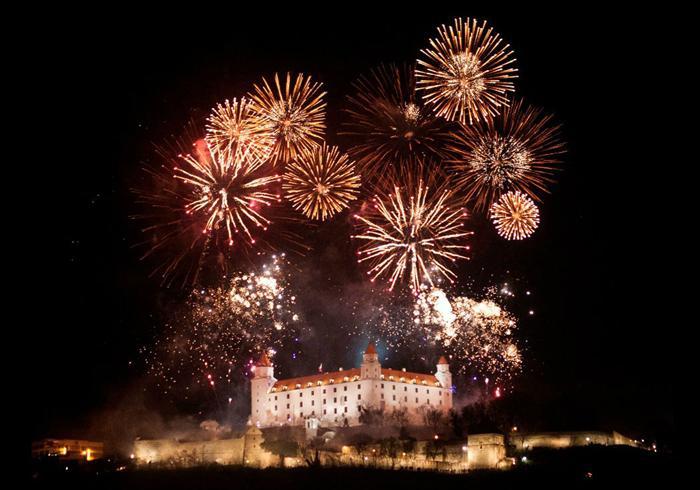 Doček Nove godine u Bratislavi