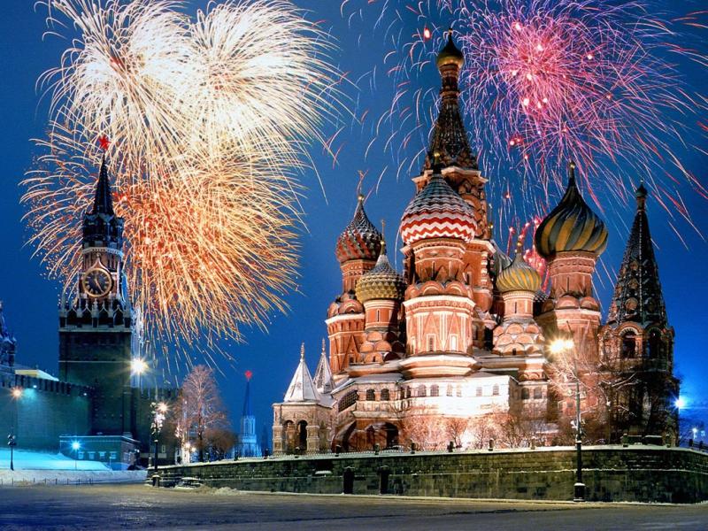NOVA GODINA U PRESTONICI RUSIJE