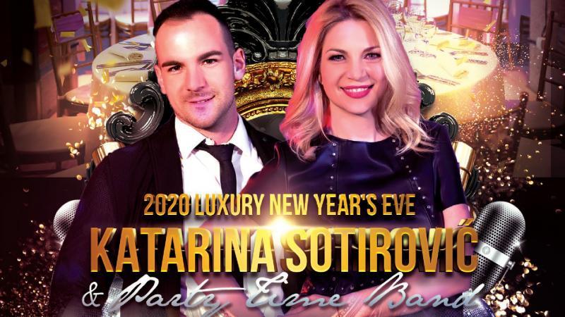 Party Time bend i Katarina Sotirović za doček Nove 2020. godine u Lobby event centru