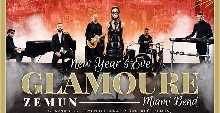 Miami bend za doček Nove 2020. godine u restoranu Glamur