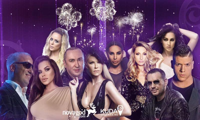 Gde pevaju poznati za Novu godinu 2021.