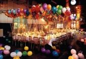 Dekoracije balonima – radost novogodišnjih praznika