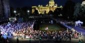 Doček Nove godine na trgu u Beogradu