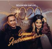 Đani i Andreana Čekić za doček Nove 2020 godine u restoranu Stadion Hall