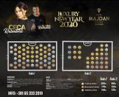 Ceca i Sloba Radanović za doček Nove 2020. godine u hotelu Majdan