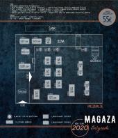 Bend Snovi od stakla za doček Nove 2020. godine u restoranu Magaza