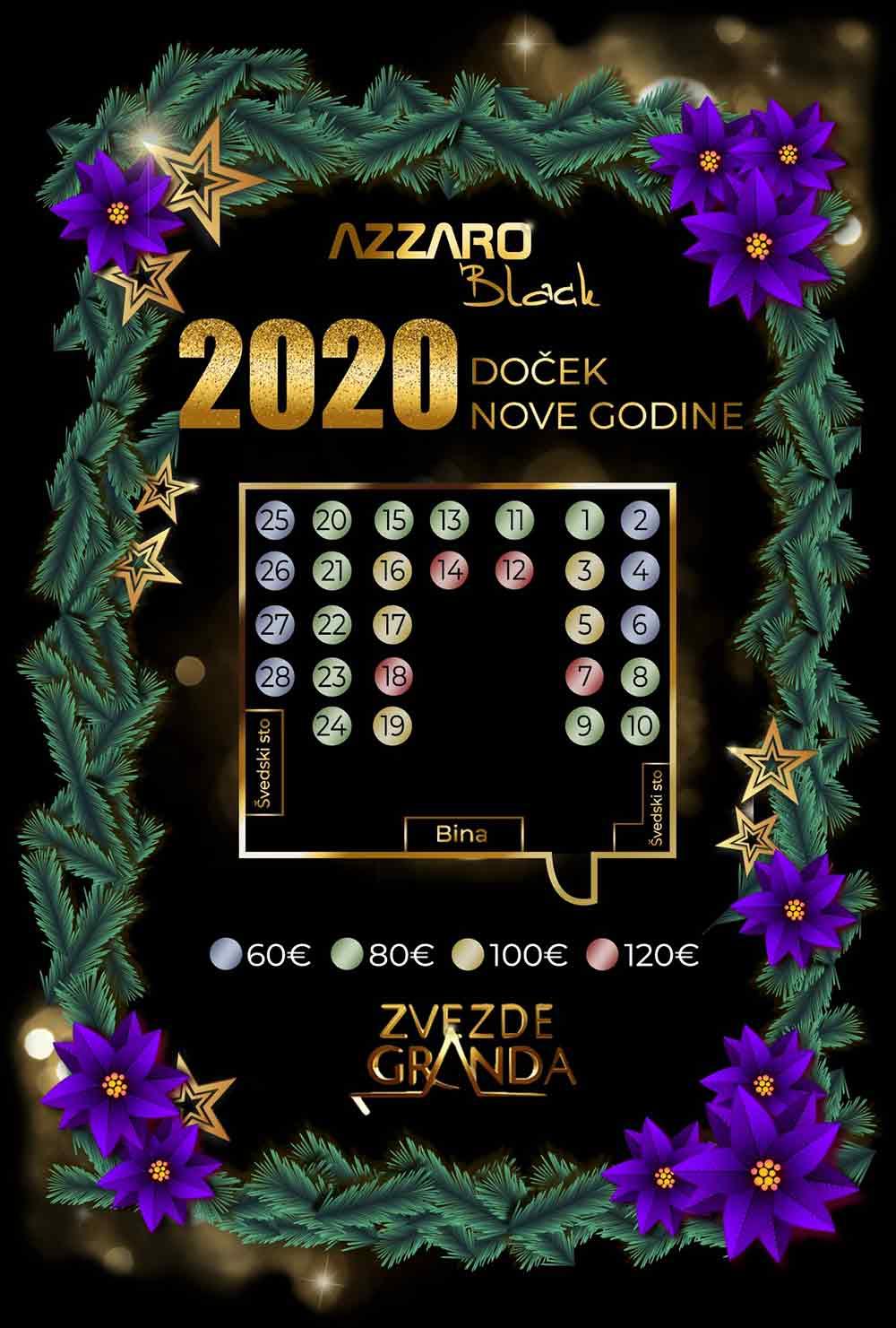 klub azzaro nova godina mapa sedenja 1