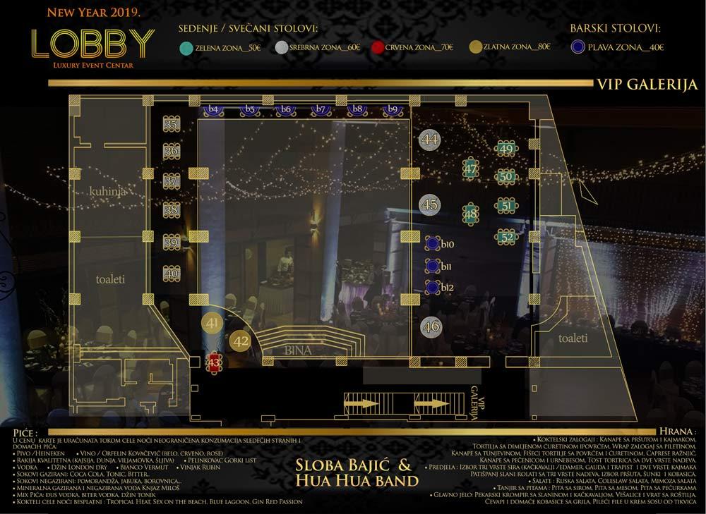 event centar lobby mapa