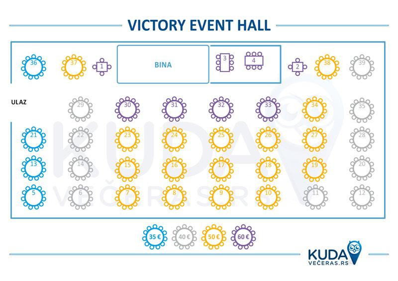 Victory Event Hall Nova godina