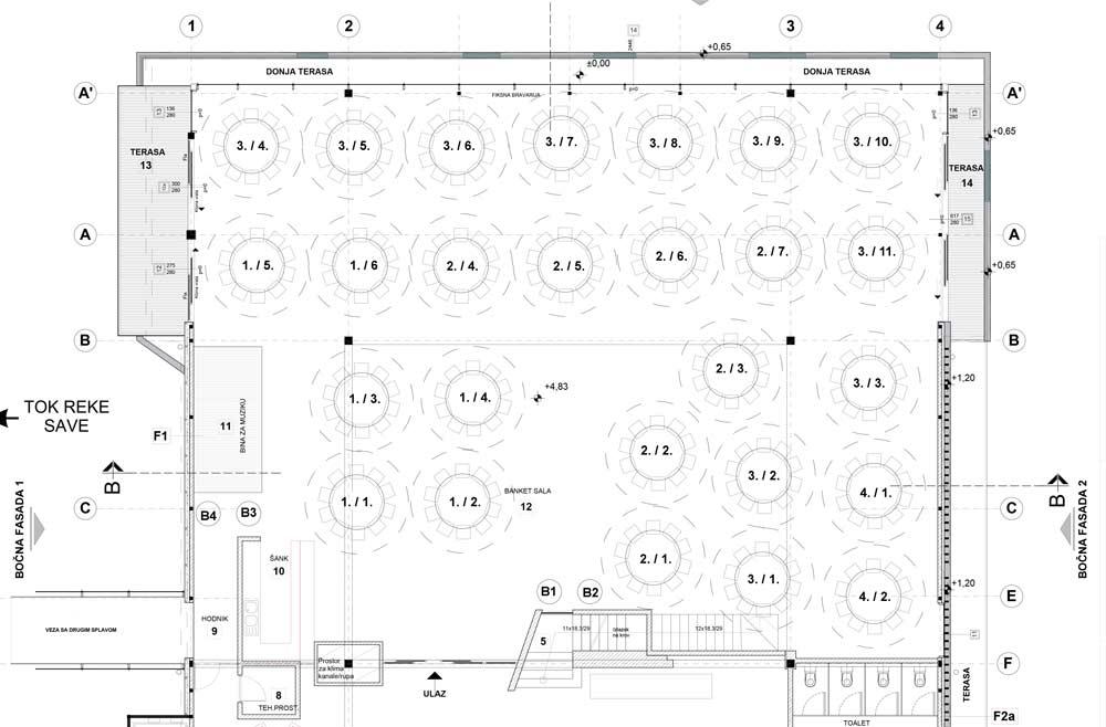 event centar kopernikus 610 mapa