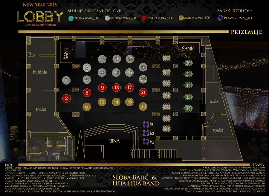 restoran lobby nova godina mapa