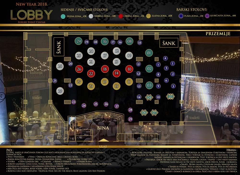 mapa event centar lobby