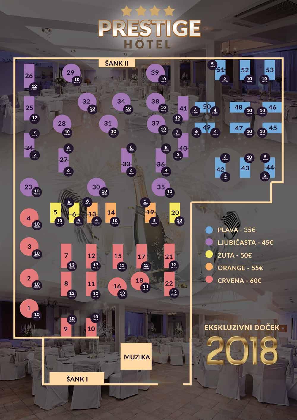 hotel prestige mapa nova godina