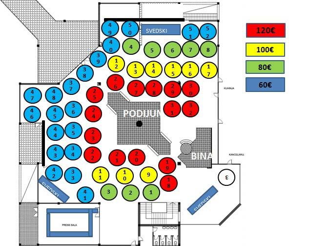 klub azzaro mapa