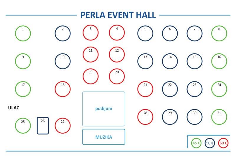 perla event hall nova godina mapa sedenja