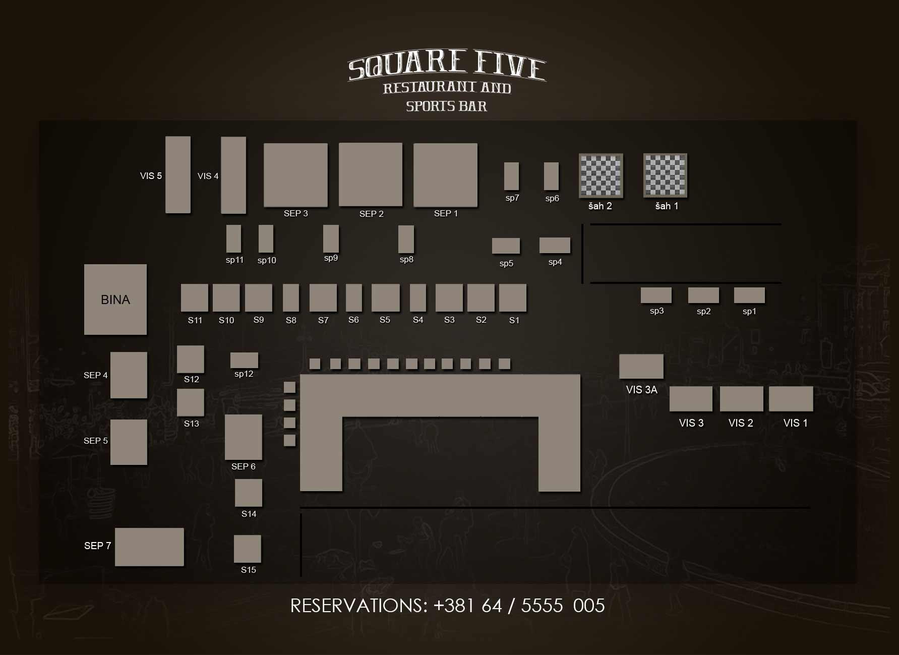 pub square five nova godina mapa