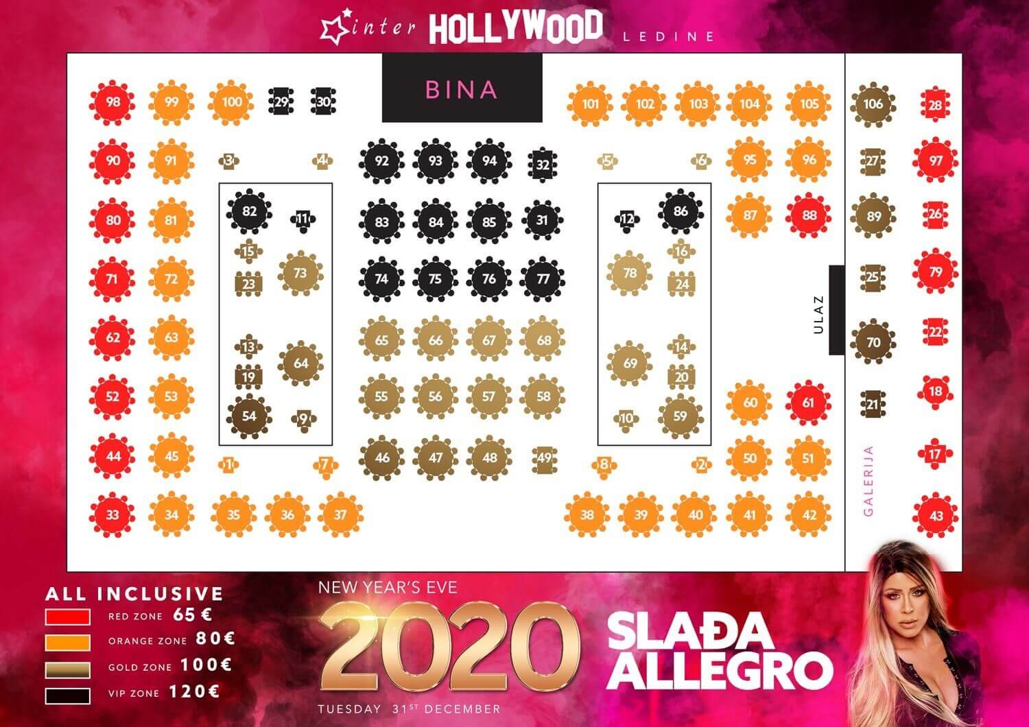 sladja allegro nova godina hollywood