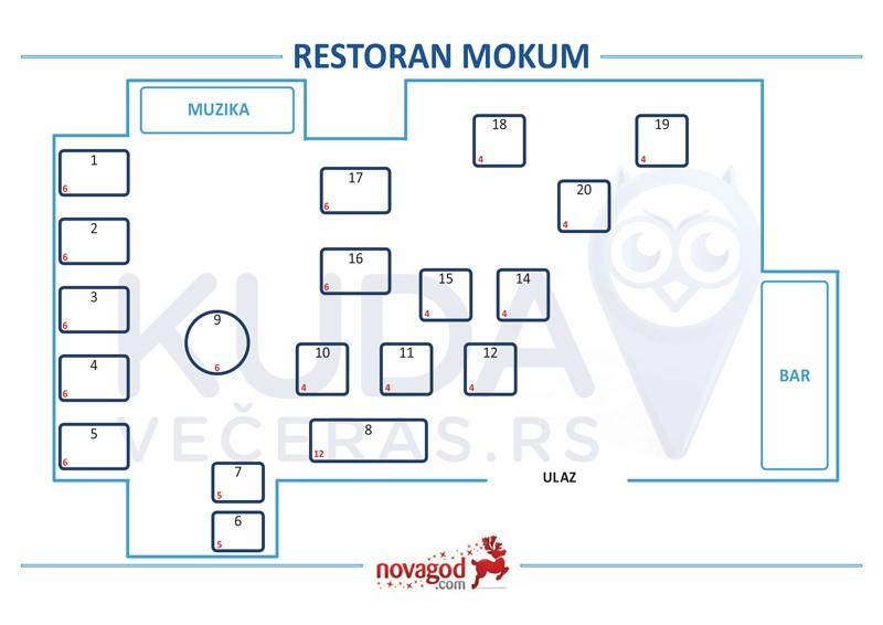 restoran mokum nova godina mapa sedenja
