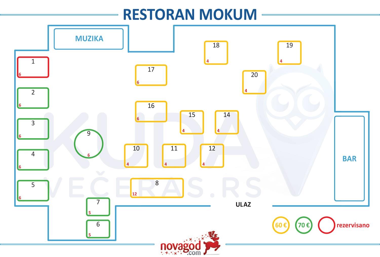 restoran mokum hotel amsterdam nova godina mapa sedenja