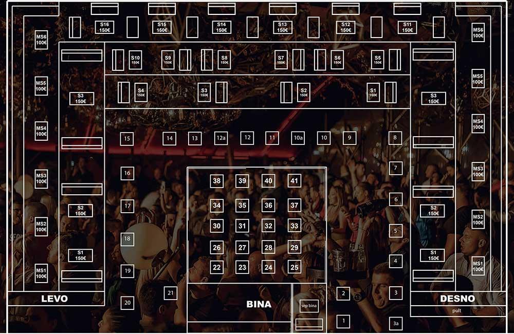 splav port nova godina mapa sedenja