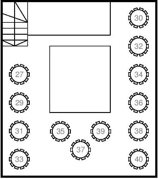 mapa splav restoran kruna