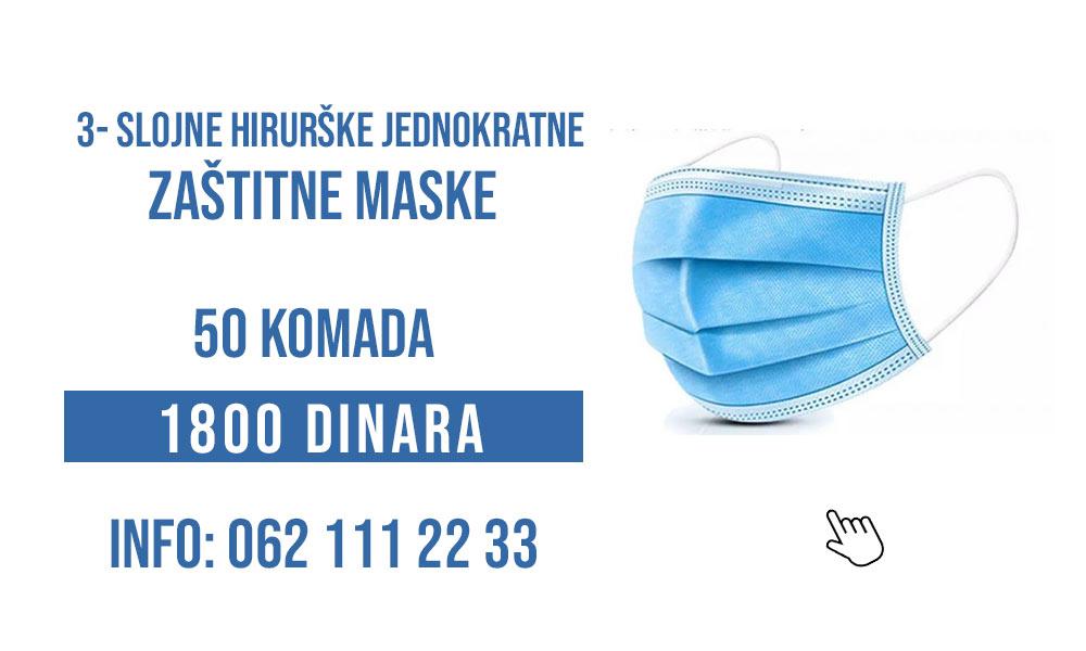 gde kupiti jednokratne zastitne maske u beograd