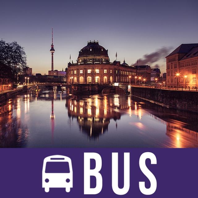 Berlin 6 dana bus doček Nove Godine
