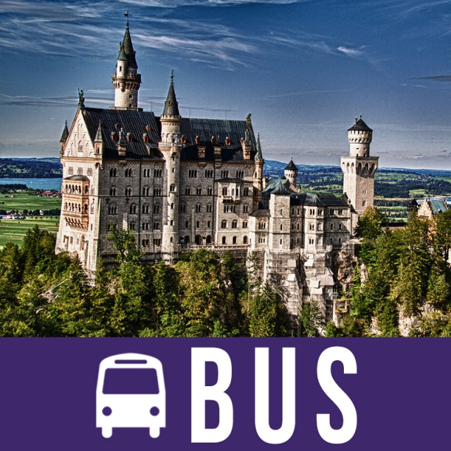 Dvorci Bavarske Doček Nove Godine