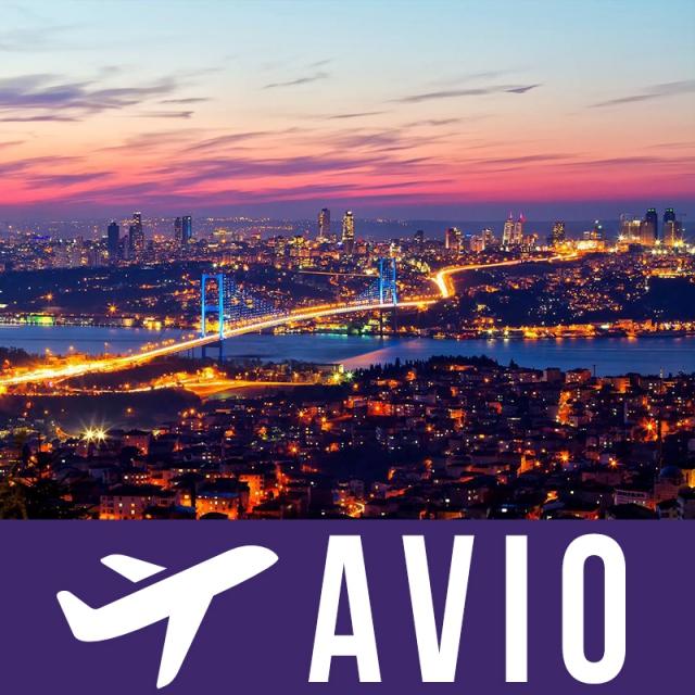 Istanbul 4 dana avion doček Nove Godine