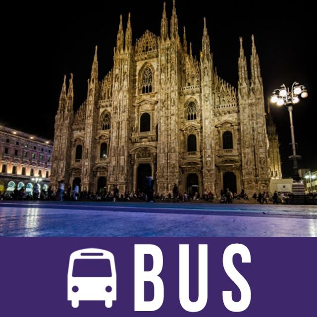 Milano 6 dana bus doček Nove godine