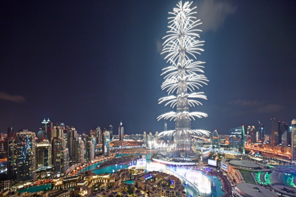 Dubai 8 dana doček Nove godine