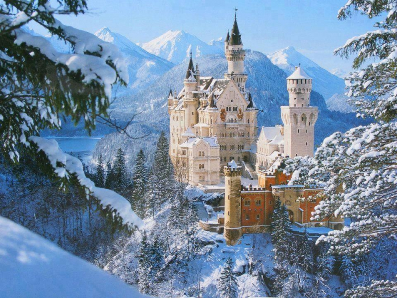 Dvorci Bavarske 6 dana bus doček Nove godine