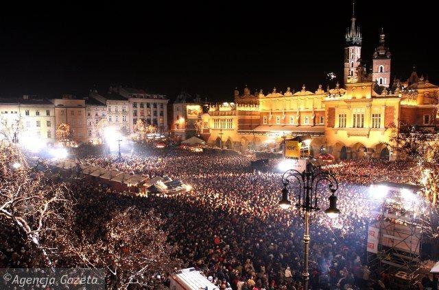 Krakov Nova godina slike