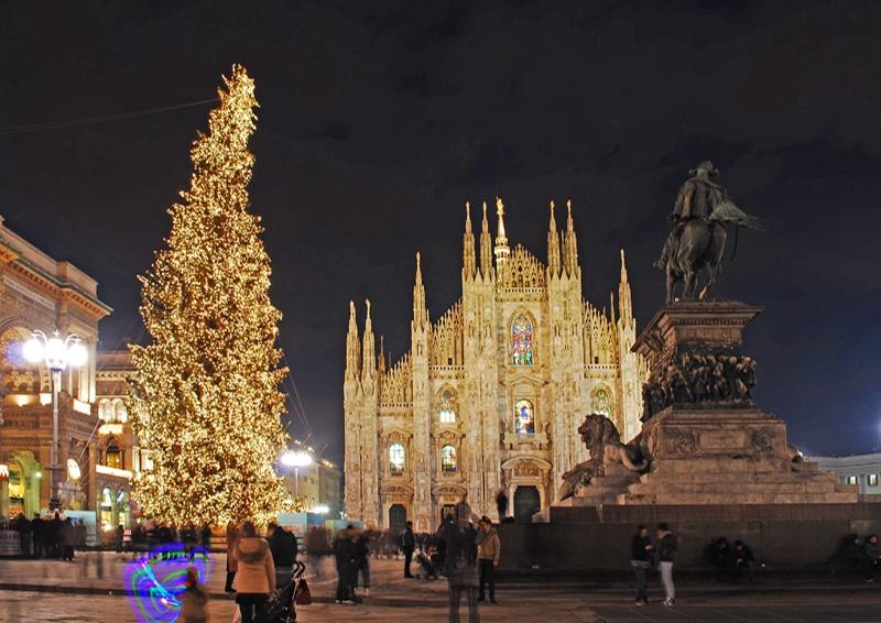 Milano doček Nove godine