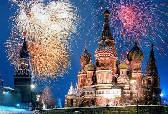 Moskva hotel docek nove godine