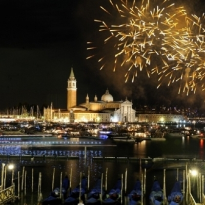 Nova Godina Docek Venecija fotke slike tag icon gondola