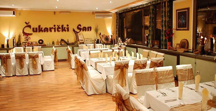 restoran Čukarički San nova godina