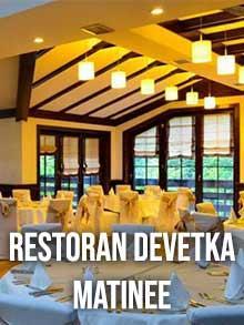 Restoran Devetka Matinee Nova godina