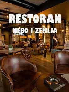 Restoran Nebo i zemlja